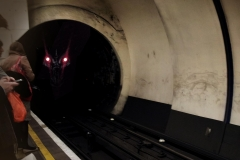 dragon in tunnel